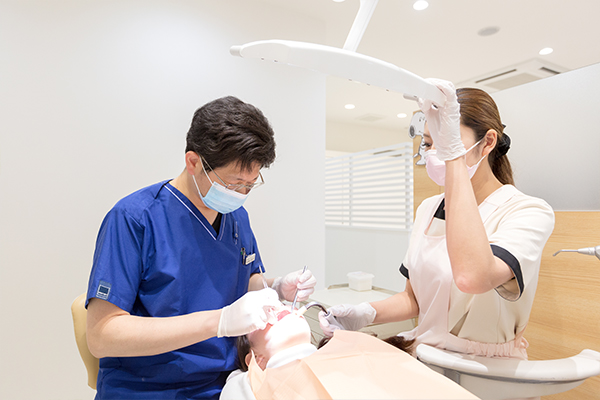 基本的な歯科治療は受けられます